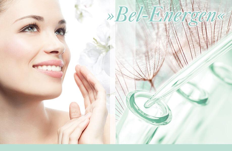 Bel energen Kosmetik Wirkstoffkosmetik für kosmetische BEhandlungen im professionellen Kosmetikstudio und für die Heimpflege