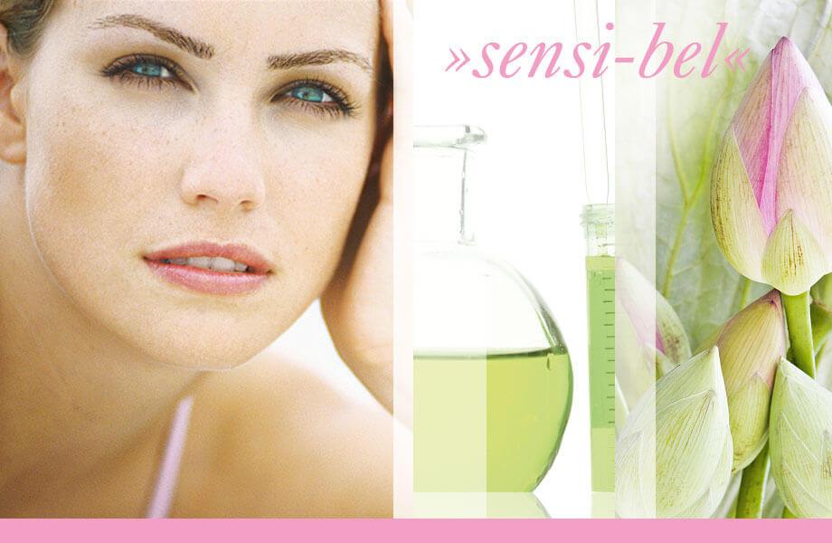 sensi-bel Wirkstoffkosmetik für professionelle kosmetische Behandlungen