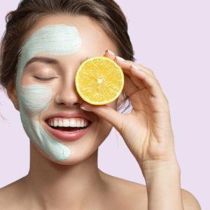 Aktionsbild Fruchtsäure kosmetische Behandlung
