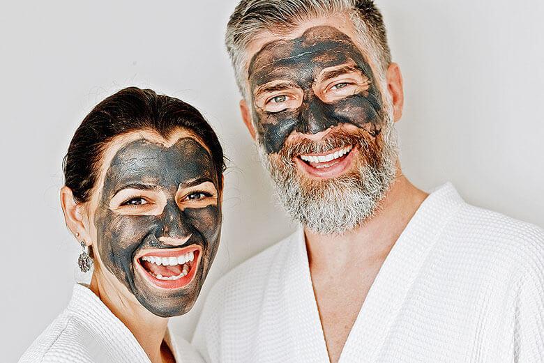 Kosmetische Behandlung – Aktion für Mann und Frau